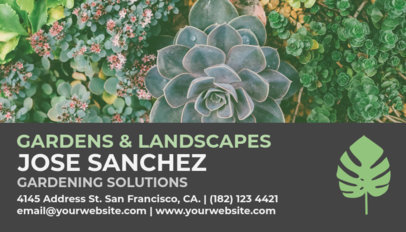 Placeit landscaping business card template landscaping business card template flashek Gallery