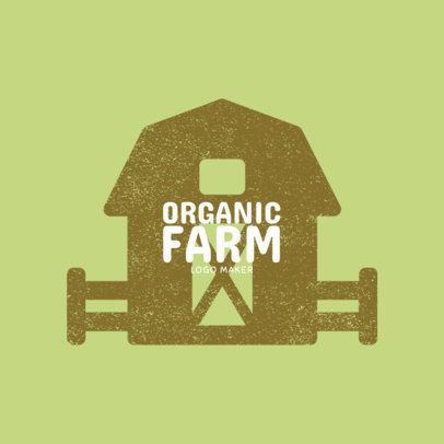 Logo Template for Organic Farms 1125c