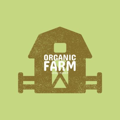 Logo Template for Organic Farms 1125c