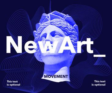 Art Show Poster Maker 16a