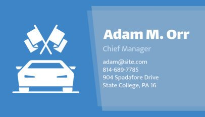 Auto Dealer Business Card Maker