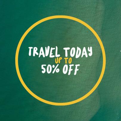 Social Media Post Maker for Travel Promotions 581d