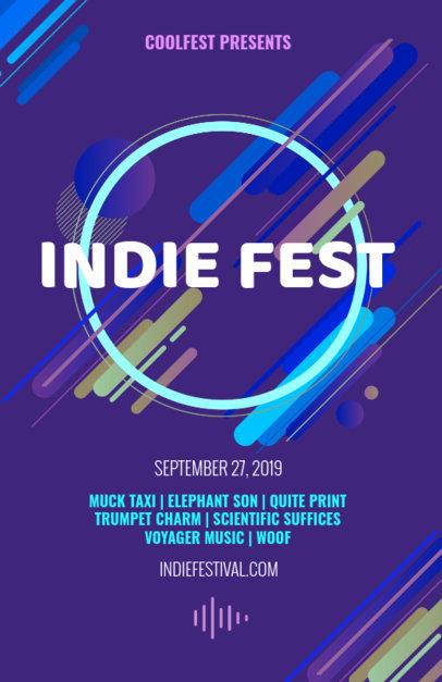 Flyer Maker for Indie Festivals 52b