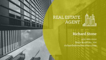 Real Estate Agent Business Card Maker 59b