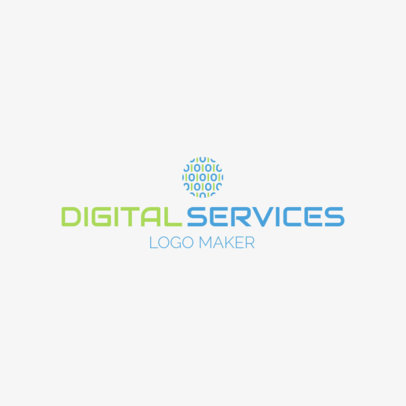 Tech Company Logo Maker 1141c