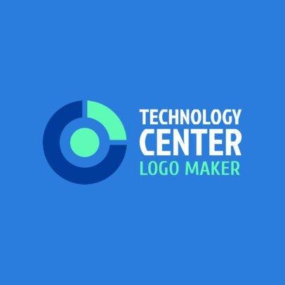 Tech Company Logo Template 1141d