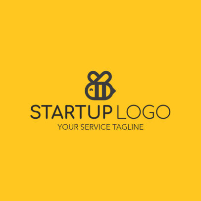 Start Up Logo Maker with Animal Graphics 1144a