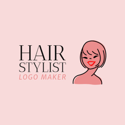 Online Logo Maker for a Hair Stylist 1162e