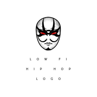 Band Logo Maker with Mask Icon 1095b