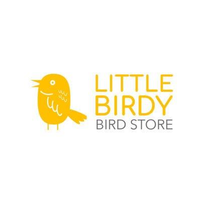 Online Logo Maker for a Bird Store 1191c
