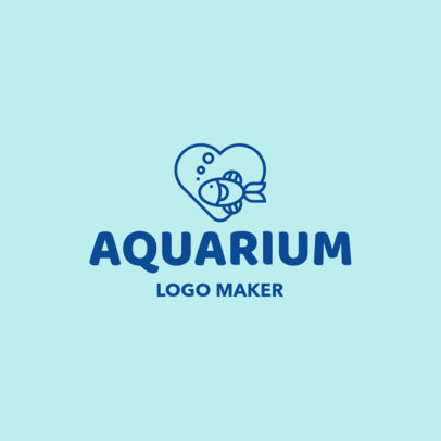 Online Logo Maker for an Aquarium 1191e