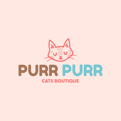 Online Logo Maker for a Cat Shop 1191f