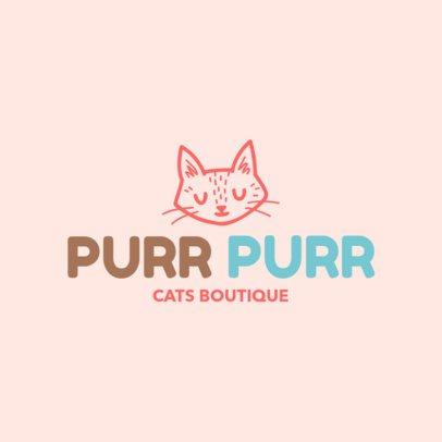 Online Logo Maker for a Cat Shop 1191f