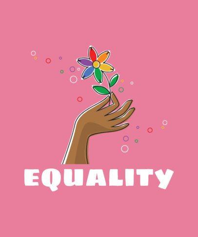 LGBT T-Shirt Design Maker for Equality 29d