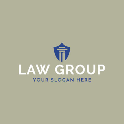 Online Logo Maker for Lawyers 1194e