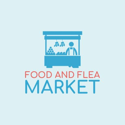 Food Market Logo Maker 1282e