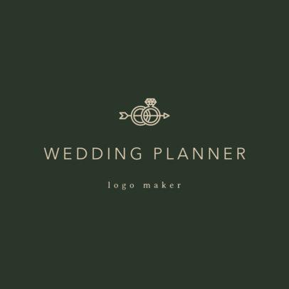 Custom Logo Maker for a Wedding Planner 1217a