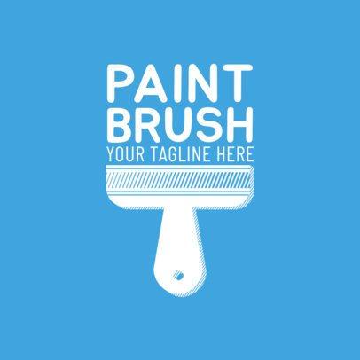 Paint Brand Logo Maker for Painter Companies 1164d