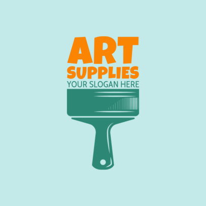 Art Supplies Logo Maker for Art Shops 1164e