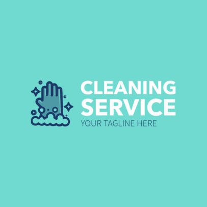 Cleaning Service Logo Maker with Cleaning Images 1204b