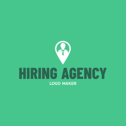 Employment Agency Logo Maker 1212c