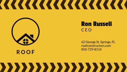 Roofing Business Card Maker 99d