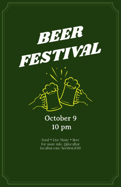 Online Flyer Maker for Beer Festivals 94e