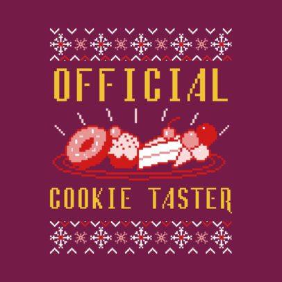 Ugly Christmas Jumper T-Shirt Design Maker 652f