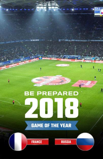 Online Flyer Maker for Soccer Tournaments 165b