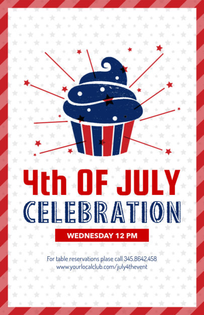 4th of July Flyer Maker 153b
