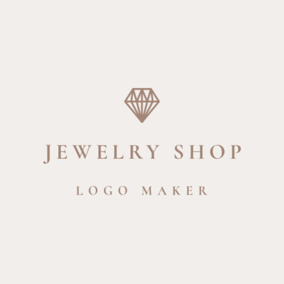 Online Logo Maker for a Jewelry Store 1208c