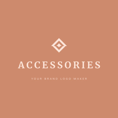 Online Logo Maker for an Accessories Store 1208e