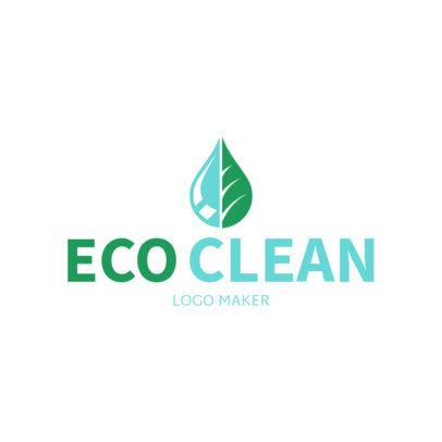Logo Template to Create an Eco Friendly Logo 1173b