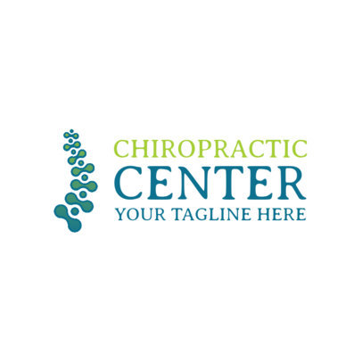 Chiropractic Wellness Center Logo Template 1188b