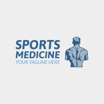 Sports Medicine Clinic Logo Maker 1188e