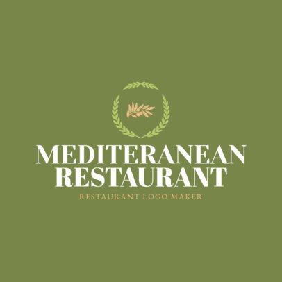 Custom Logo Maker for Mediterranean Restaurants 1218c