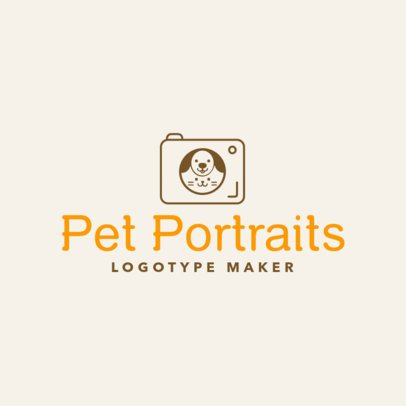 Photography Logo Maker for Pet Photographers 1196d