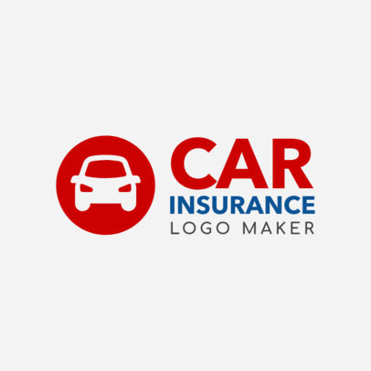 Online Logo Maker for Car Insurance Company 1189b