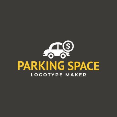 Custom Logo Maker with Key Icons for Parking Lots 1189e