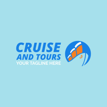 Travel Agency Logo Maker for Vacation Planners 1148d