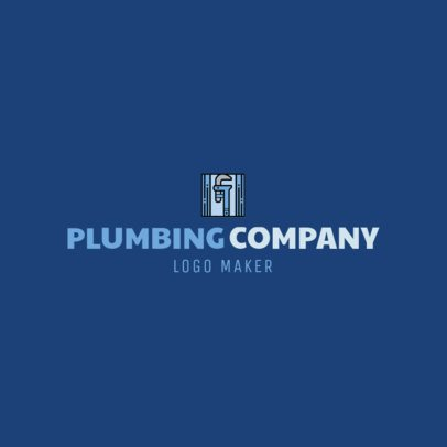 Online Logo Maker for a Plumbing Company with Wrench Clipart 1167b