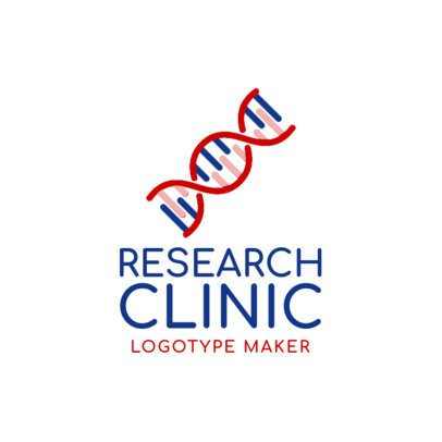 Online Logo Maker for Clinic Labs with Science Icons 1172c
