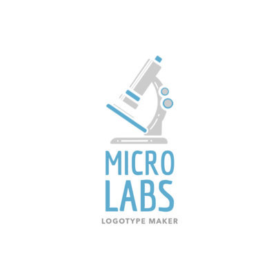 Custom Logo Maker for Lab Equipment 1172d