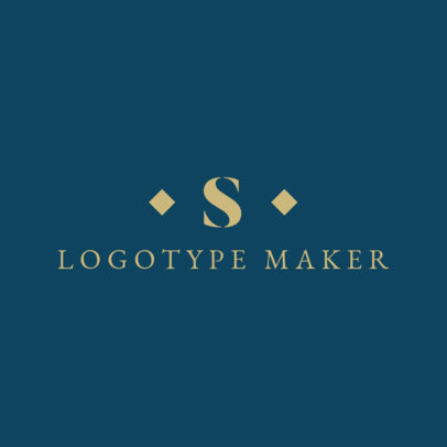 Apparel Logo Maker with Minimalist Design 1066e