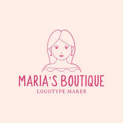 Boutique Logo Maker with Avatar Creator 1170e