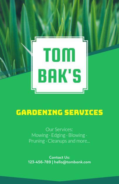Gardening Online Flyer Maker 159a