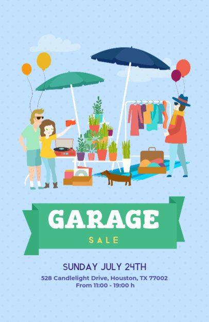 Garage Sale Flyer Template 200d