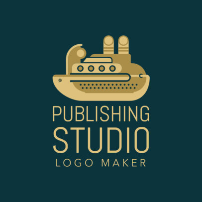 Custom Logo Maker for Publishing Houses with Animal Icons 1142e