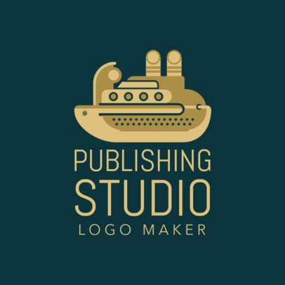 Custom Logo Maker for Publishing Houses with Animal Icons 1142e