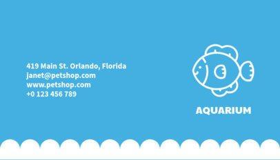 Aquarium Business Card Maker 187c